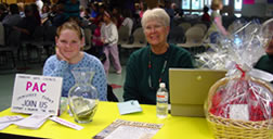 Pahrump Arts Council Membership volunteers man our welcome table